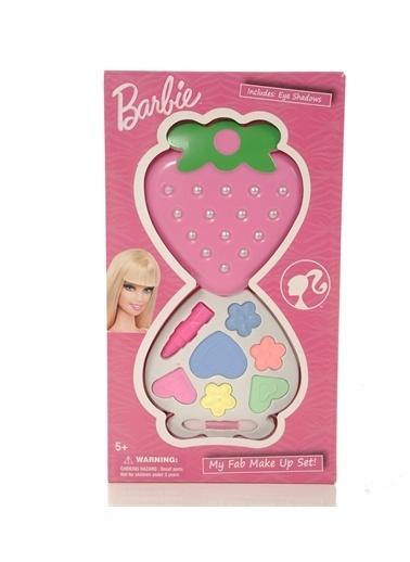 Barbie Frozen/Barbie Temalı Sürülebilir Oyuncak Makyaj SETİ Renkli